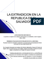 La Extradicion en La Republica Del Salvador (POWER POINT)