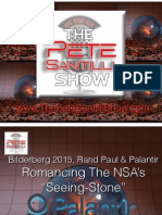 Bilderberg 2015, Rand Paul & Palantir - Romancing The NSA's Seeing-Stone