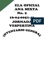 Escuela Oficial Urbana Mixta No