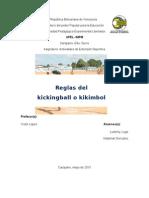 Reglas Del Kickingball o Kikimbol