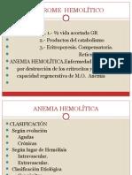 Tema 5. Anemia Hemolitica Adquirida, Clasificacion Inmune, Autoinmune, Isoinmune, No Inmune - Dra. Nilda Iriarte (1)