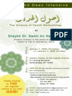 Hadith Intensive 2008 (1)
