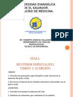 Sentidos Especiales I Visión y Audición 2015