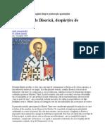 Sfântul Ciprian Al Cartaginei Despre Pastoraţia Apostaţilor