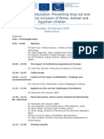 Agenda_Education Mediation_26!2!2015 ENG FIN