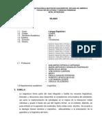 Lengua Española I UNMSM