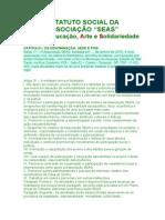 Estatuto Social de Associação