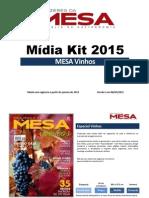 Mesa Vinhos Midia Kit 2015