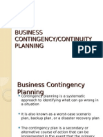 Contingency Planning