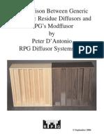 Docs Technology White Papers QRD_Modffusor Comparison