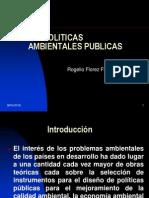 Politicas Ambientales Publicas
