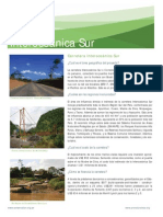 Factsheet Interoceanica Sur