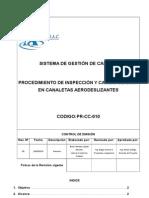 Inspeccion y Cambio de Lona en Canaletas