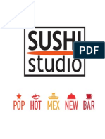 Menu SUSHI-STUDIO 2015