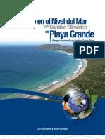 Aumento del nivel del mar por Cambio Climático en Playa Grande, Parque Nacional Las Baulas, Costa Rica - Drews & Fonseca 2009