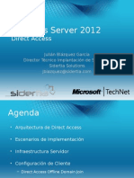 Webcast Windows Server 2012 Direct Access 10-08-14
