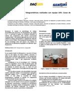 Exactitud de Trabajos Fotogrametricos Con UAV