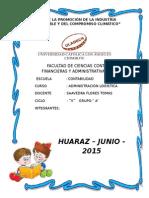 Monografía de Administracion Logística 5 s