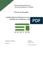 Proiect Operatori Ecotur ONG