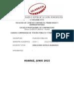 Tesoro Publico-Finanzas Publicas