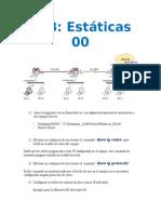 Rutas Estaticas IPv4