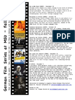 Film Series Fall 2013