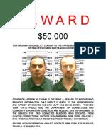Clinton CF Escape Reward Notice PDF