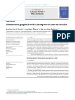 Fibromatosis Gingival