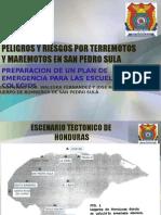 Peligros y Riesgos Honduras