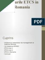 Nivelurile ETCS in Romania