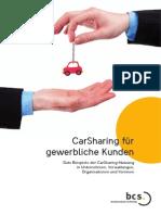 CarSharing für gewerbliche Kunden