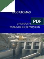 Reparacion BOCATOMAS CHAVIMOCHIC