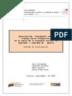 Informe - Aproximación Conceptual Sobre Trabajo Socioproductivo