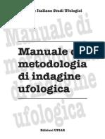Manuale Metodologia Ufo CISU 2010