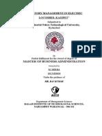 Theoretical Framework Inventory Management