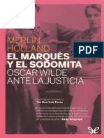 Holland, Merlin - El Marques y El Sodomita