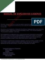 Manual de Explosivos