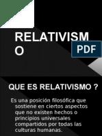 Relativismo Filosofico