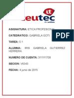 Etica Profesional Tarea 5.1