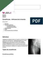 Coxarthrose Arthrose de La Hanche 834 Njwv1m