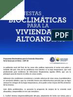 Propuestas Bioclimáticas Para La Vivienda Altoandina