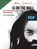 Writing on the Wall by Mumia Abu-Jamal