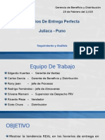 Entrega Perfecta Juliaca Puno - 2015