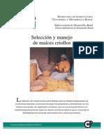 Seleccion y Manejo de Maices Criollos
