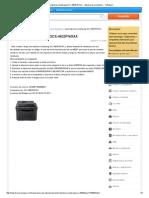 Reset Impresora Samsung SCX-4623FN_XAX - Impresoras y Scanners - YoReparo