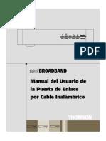 Thomson-Manual TCW710