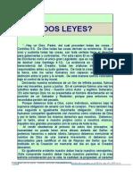 6) ¿DosLeyes?