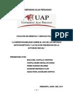 Universidad Alas Peruanas Actividades