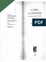 SARTRE, Jean Paul, El Miedo a La Revolucion