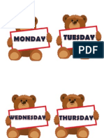 Days of the Week_bear